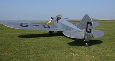 RX306789 (gosport_flyer) Tags: laa aeroplane aircraft light silver homebuilt propellor grass airfield
