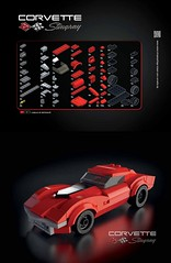 How To Build Dream Cars With LEGO Bricks (ZetoVince) Tags: lego zeto vince zetovince greek car vehicle book dream instructions ferrari ford pagani zonda porsche lamborghini countach bugatti datsun shelby cobra mustang 911 dodge charger corvette atlantic