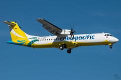 Cebu Pacific Air - ATR 72-212A(600) / RP-C7289 @ Manila (Miguel Cenon) Tags: ceb cebgo cebatr cebupac cebupacific cebuatr cebu cebpac bupak airplane airplanespotting apegroup appgroup airport rpll atrairplanes atr atr72 turboprop philippines planespotting ppsg manila naia nikon d3300 aircraft wings wing window wheel narrowbody prop propliner rpc7289