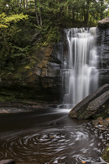 Hungarian Falls (the real digibot) Tags: waterfall autumn up upperpeninsula michigan soft