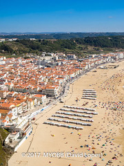 Portugal 2017-9052230 (myobb (David Lopes)) Tags: 2017 adobestock allrightsreserved europe nazare portugal aerialview beach beachumbrella copyrighted day daylight enjoyment highangleview leisureactivity ocean outdoors sand sea sunbathing tourism traveldestination umbrella vacation watersedge ©2017davidlopes