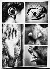 My five cents (Saburosan) Tags: bw highkey photomontage michaelangelo malta xipetotec vedette queenmotheridia benin mudra buddha abhaya