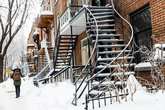 021-Berri-photo susan moss (The Montreal Buzz) Tags: montreal quebec canada neige snow snowing winter plateau architecture stairs stairway