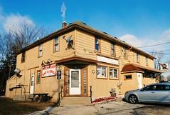 Buckhorn Bar & Grill - Franklin, Wisconsin (Cragin Spring) Tags: wisconsin wi unitedstates usa unitedstatesofamerica bar tavern pabst pbr beer beersign sign buckhorntavern door corner buckhornbargrill franklin franklinwi franklinwisconsin midwest