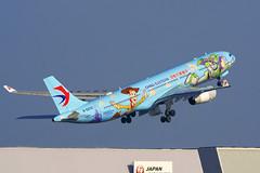 Airbus A330-343, B-5976, China Eastern Airlines (tkosada.mac) Tags: chinaeasternairlines shanghaidisneyresort skyteam airbus a333 tokyointernationalairport hanedaairport hnd rjtt