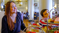 Tapia and Dylan at Afternoon Tea-February 2019 (Dave Byng) Tags: people portrait canada winter britishcolumbia