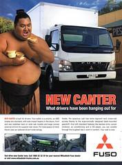 2005 Mitsubishi Canter Fuso Truck Aussie Original Magazine Advertisement (Darren Marlow) Tags: 2 5 20 2005 m mitsubishi c canter f fuso t truck cool collectible collectors classic a automobile v vehicle j jap japan japanese asian asia 00s