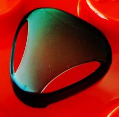 Alien - HMM! (Thad Zajdowicz) Tags: zajdowicz pasadena california usa closeup macro macromondays whatisit cellphone samsung galaxy s9 snapseed color red availablelight square diagonal abstract alien mask eyes