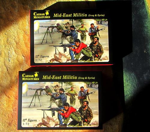 Middle East Militia (Iraq & Syria) 32 + Figures 1:72 Scale