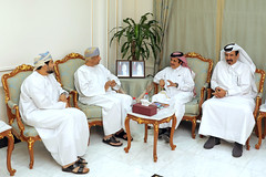 Qatar Chamber Chairman Welcomes the Omani delegation (Qatar Chamber) Tags: qatar oman chamber commerce delegation business