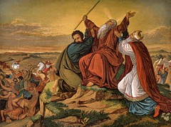Aaron and Hur staying Moses Hands. (albutross) Tags: moses aaron hur albutross bible