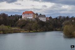 Ozalj (Ivica Pavičić) Tags: ozalj croatia river kupa castle old town sky trees riverbank landscape architecture