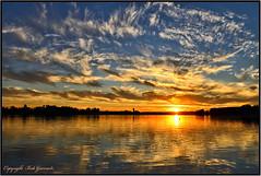 Sunset at Lake Hood in Anchorage Alaska (Bob Garrard) Tags: sunset anchorage alaska lake hood spenard anc panc lhd palh inn