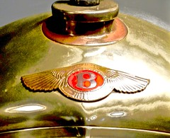 100 Years ago (artreality) Tags: simeone museum automobile english british bentley car classic antique historic blower supercharged visitor tourism vacation brass cloisonne radiator