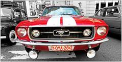 Ford Mustang, Rétrofolies 2018 de Spa, Belgium (claude lina) Tags: claudelina belgium belgique belgië spa voiture car rétrofolies oldcar ancêtres vieillesvoitures ford fordmustang