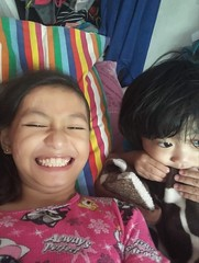 Herou and I :) (ghostgirl_Annver) Tags: asia asian boy girl brother sister family kids children teen philippines manila annver