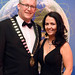 Newly elected IHF President, Michael Lennon and Joanne McEniff, Westport Woods Hotel