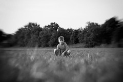 Stadtkind (NEVEZ P★) Tags: nevezphotography 50mm canon model dof berlin germany portrait fineart art childhood film kindheit blackandwhite bnw bw sw bokeh light contrast nature summer people tree field feld