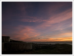 brean-down-sunset-1100620-090119 (Peadingle) Tags: sunset dusk brean down fort somerset