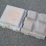 エコサイクル舗石ブロックの写真