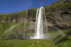 Seljalandsfoss, Iceland (Twilight Tea) Tags: 2018 august iceland исландия waterfall seljalandsfoss rainbow