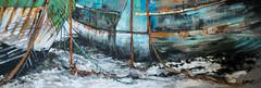 un des petits derniers..... (peu présente...ailleurs !) Tags: site lien coques cimetière bateaux cordages bois tableau peinture