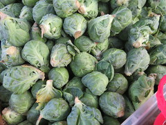 Farmers Market Green (earthdog) Tags: 2019 canon canonpowershotsx730hs sx730hs powershot mountainview farmersmarket market shopping food edible vegetable brusselsprouts green