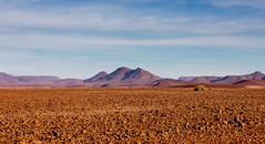 Namibia or Mars? (Trouvaille Blue) Tags: africa namibia damaraland mountains rocks boulders landscape trouvailleblue iceage glacier purple