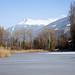 Lac de Montorge gelé