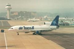 C-GATH (IndiaEcho) Tags: cgath air transat lockheed l1011385 tristar 500 aircraft london gatwick lgw airport aeroplane aviation airliner civil