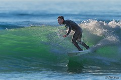 Surfer on Wave (OttoKruse) Tags: usa california sandiego surf surfer water blue green spray