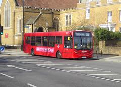 GAL 748 - YX13AFZ - ELTHAM HIGH STREET - SAT 9TH FEB 2019 (Bexleybus) Tags: eltham high street london se9 goahead go ahead adl dennis enviro 200 748 yx13afz metrobus tfl route 126
