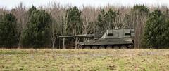 Artillery Ready to Roll (stevedewey2000) Tags: salisburyplain sptaeast spta armour army artillery as90 mon mobileartillery selfpropelledgun 2351 sony70300g kenko14xtc teleconverter tc