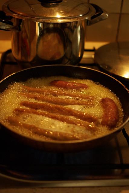 salsiccia di maiale e tacchino con broccoli (4)