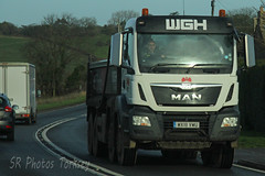 MAN Tipper WGH WX18 VWU (SR Photos Torksey) Tags: transport truck haulage hgv lorry lgv logistics road commercial vehicle freight traffic man tipper wgh