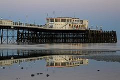 2018_05_06_0230 (EJ Bergin) Tags: sussex westsussex landscape worthing sunset beach sea seaside worthingpier seafront reflection southernpavillion