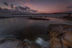 North Curl Curl Sunrise 1 (RoosterMan64) Tags: australia dawn landscape longexposure nsw northcurlcurl rockpool rockshelf rocks seascape
