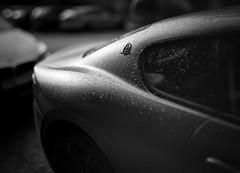 Wet Maserati (Edd Noble) Tags: maserati bokeh bokehpanorama bokehrama bokehpano brenizermethod sonya7iii canonfd85mmf12 gothenburg göteborg sweden street blackandwhite blackwhite