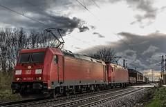 08_2019_03_17_Gelsenkirchen_Bismarck_6185_230_&_173_DB_mit_gem_Güterzug ➡️ Herne_Abzw_Crange (ruhrpott.sprinter) Tags: ruhrpott sprinter deutschland germany allmangne nrw ruhrgebiet gelsenkirchen lokomotive locomotives eisenbahn railroad rail zug train reisezug passenger güter cargo freight fret bismarck db öbb rccde sieag 0077 1016 6140 6145 6185 6193 ecr setg schweerbau logo natur outdoor graffiti wolken
