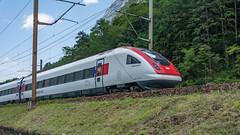 SBB RABDe 500 019 Erstfeld 07 July 2015 (BaggieWeave) Tags: switzerland swiss swisstrains swissrailways erstfeld gotthardrailway gotthard gotthardbahn sbb cff ffs rabde500 icn500