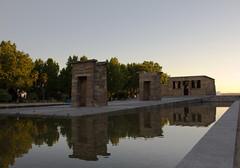 Atardecer en Templo de Debod egipcio Madrid 01 (Rafael Gomez - http://micamara.es) Tags: atardecer en templo de debod egipcio madrid parque