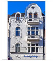 history today (dolorix) Tags: dolorix köln cologne architektur architecture fenster window fassade facade jugendstil artnouveau