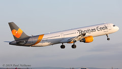 GNIKO A321 Thomas Cook (Anhedral) Tags: gniko airbusindustrie a321 a321211 tcx thomascook airliner jetliner training snn einn shannonairport
