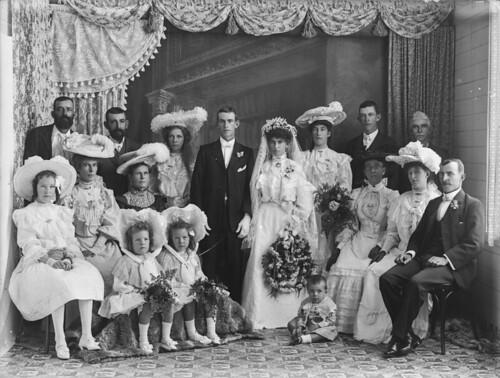 Wedding party, probably North Queensland
