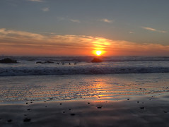 Pacific Sunset (fractalv) Tags: california pacificcoasthighway cayucos pacific ocean sunset beach birds