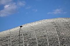 Stade Jean Bouin (Gerard Hermand) Tags: 1903297846 gerardhermand france paris canon eos5dmarkii architecture stade stadium jeanbouin ciel sky reverbere streetlight