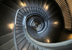 Spiral staircase (__ PeterCH51 __) Tags: spiral staircase spiralstaircase circularstaircase stairs windingstairs spiralstairs circularstairs zeitzmuseum capetown southafrica za wendeltreppe treppenhaus peterch51