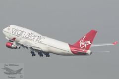 Virgin Atlantic Boeing B747-41R (jonny4x4uk) Tags: man manchesterairport ringway egcc avgeek aircraft civilian southside 23l 23r boeing b737 b757 b747 b777 b787 dash8 airbus a319 a320 a350 a380 a330 q400 bombardier crj1000 iberia flybe ba britishairways speedbird airfrance virginatlantic virgin jet2 tui etihad skyteam emirates united lufthansa sacandinavian airlines sas singapore thomascook jumbo hainan cathaypacific icelandair dreamliner klmasia airlivery hawker beechcraft cockpit closeup departures gvxlg