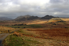 Green Crag and Harter Fell 03-2019 (Cumberland Patriot) Tags: cumbria north west northern england english lake district national park fells mountains hills ulpha green crag harter fell