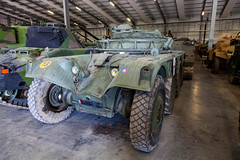 Panhard EBR 15th Sept 2018 #2 (JDurston2009) Tags: conservationhall erb75 erb75heavyarmouredcar tigerday tigerdayx bovington bovingtoncamp dorset reservecollection tankmuseum thetankmuseum tank vcc vehicleconservationcentre